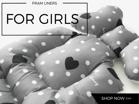 Pram Liners For Girls Banner