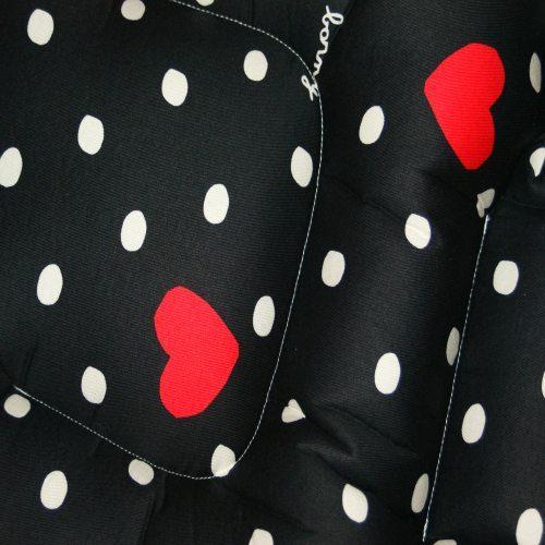 Sweet Heart Pram Liner Close Up Image