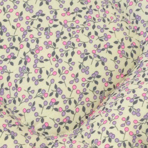 Baby Blossom Pram Liner Close Up Image